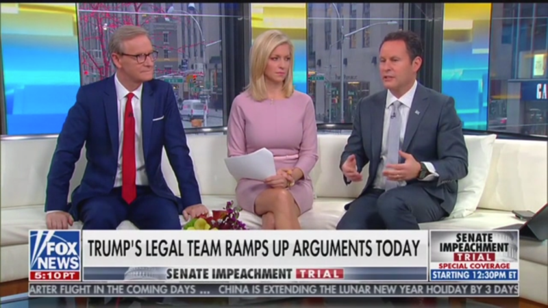 Fox's Brian Kilmeade Accuses Igor Fruman of 'Ulterior Motives' for Recording Trump Demanding Ambassador's Ouster
