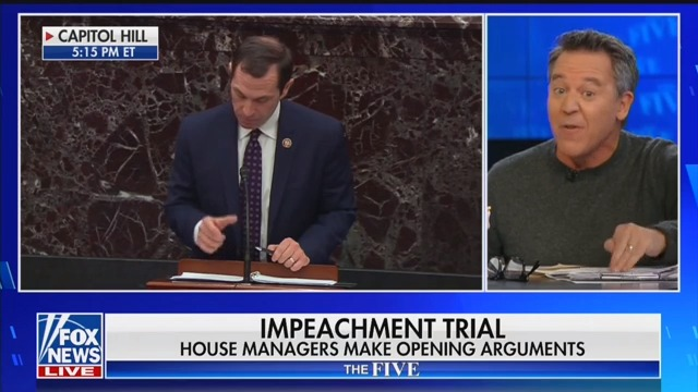 Fox News' Greg Gutfeld: Dems Really Impeaching Trump for Being 'Phenomenally Interesting'