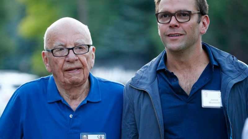 Rupert Murdoch's Son Rebukes Fox News for Climate Change Denial