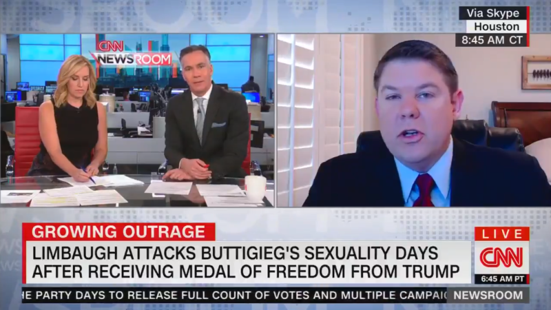 CNN's Jim Sciutto Claims Ben Ferguson Is 'Justifying Bigotry' by Defending Limbaugh's Buttigieg Comments