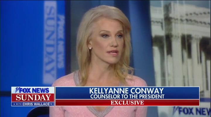 Kellyanne Conway Claims Trump Is Being Victimized by a 'Two-Tier Justice System'