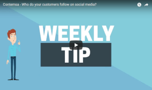 Contemsa - Who do your customers follow on Social media