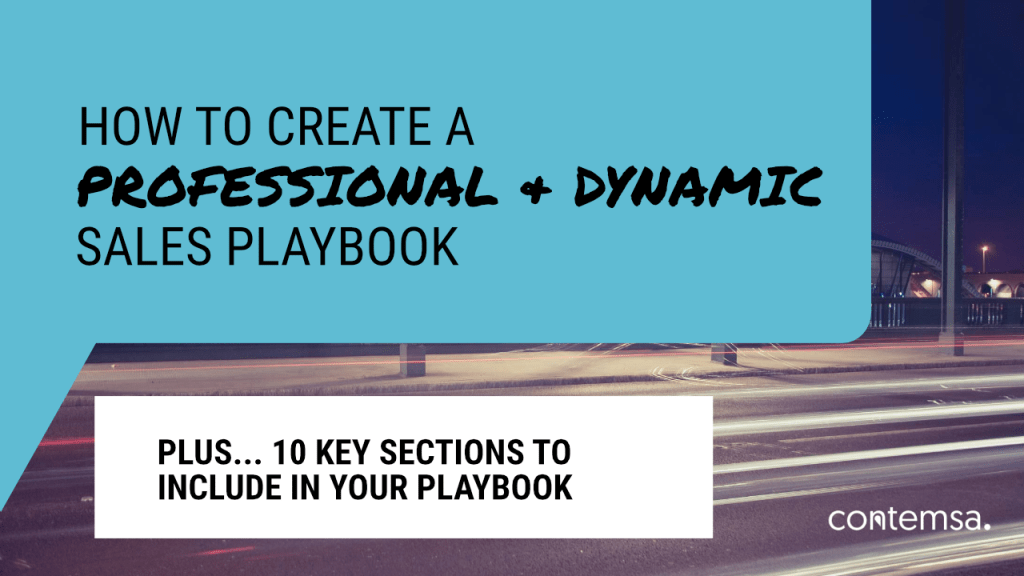 How To Create a Sales Playbook Presentation