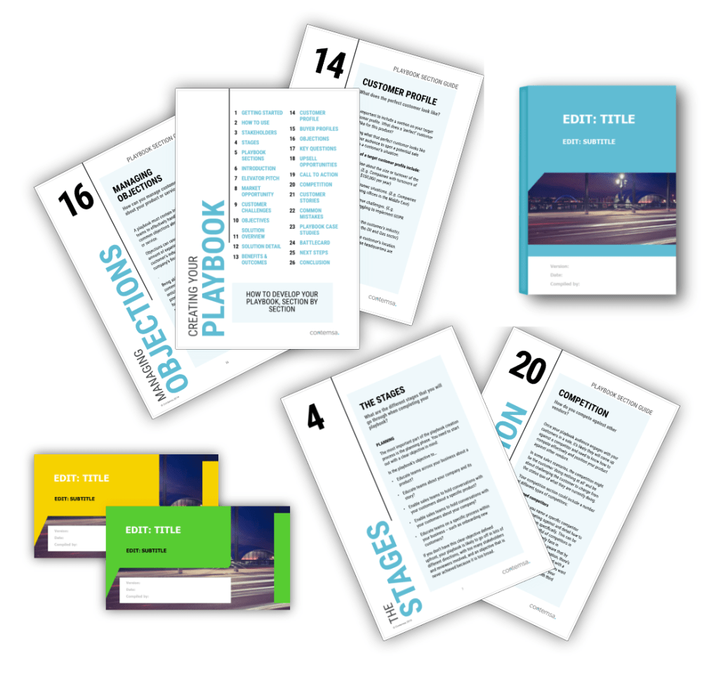 Sales Playbook Template Pack