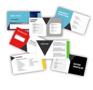 Inside the PPT Sales Playbook Template