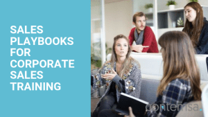 SALES PLAYBOOKS FOR CORPORATE SALES TRAINING