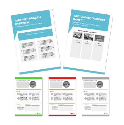 Sales templates for Sales Managers - examples