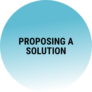 Sales Hub - Proposing a Solution