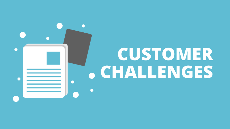 Customer challenges in your playbook