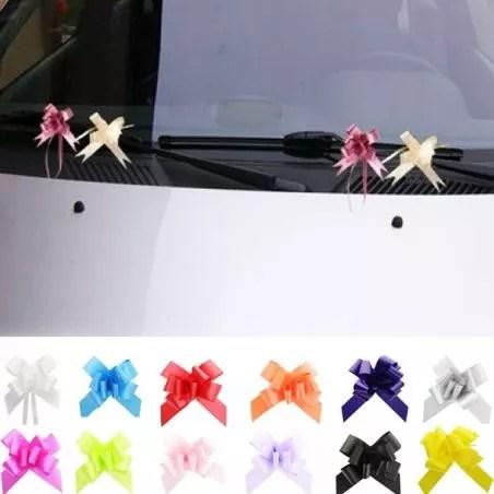 mini nœud decoration voiture mariage lot de 20