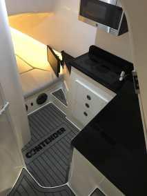 contender FA interior microwave refridgerator