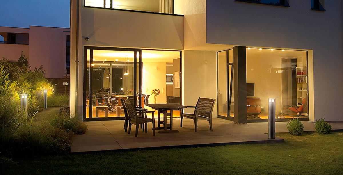 aussenleuchten edle aussenlampen f r jeden mit stil. Black Bedroom Furniture Sets. Home Design Ideas