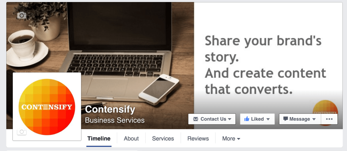 contensify page