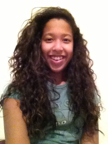My Natural Side Part Curls By Faithhermel