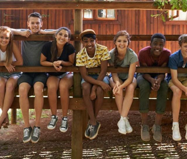 Teens At Camp