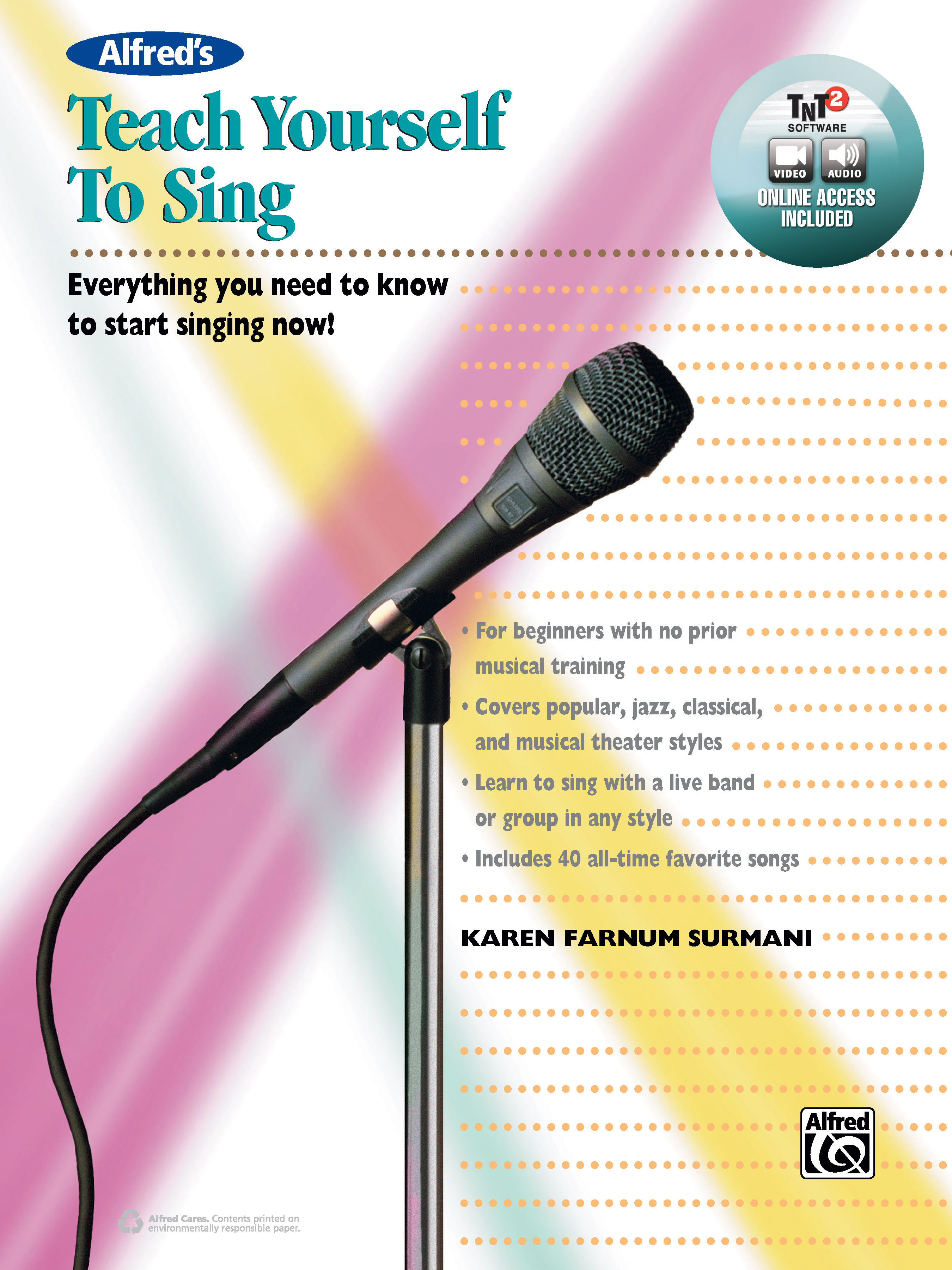 Alfred's Teach Yourself to Sing: Vocal Book & Online Video/Audio ...