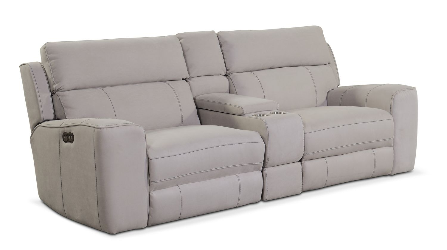 Newport 3-Piece Power Reclining Sofa With Console
