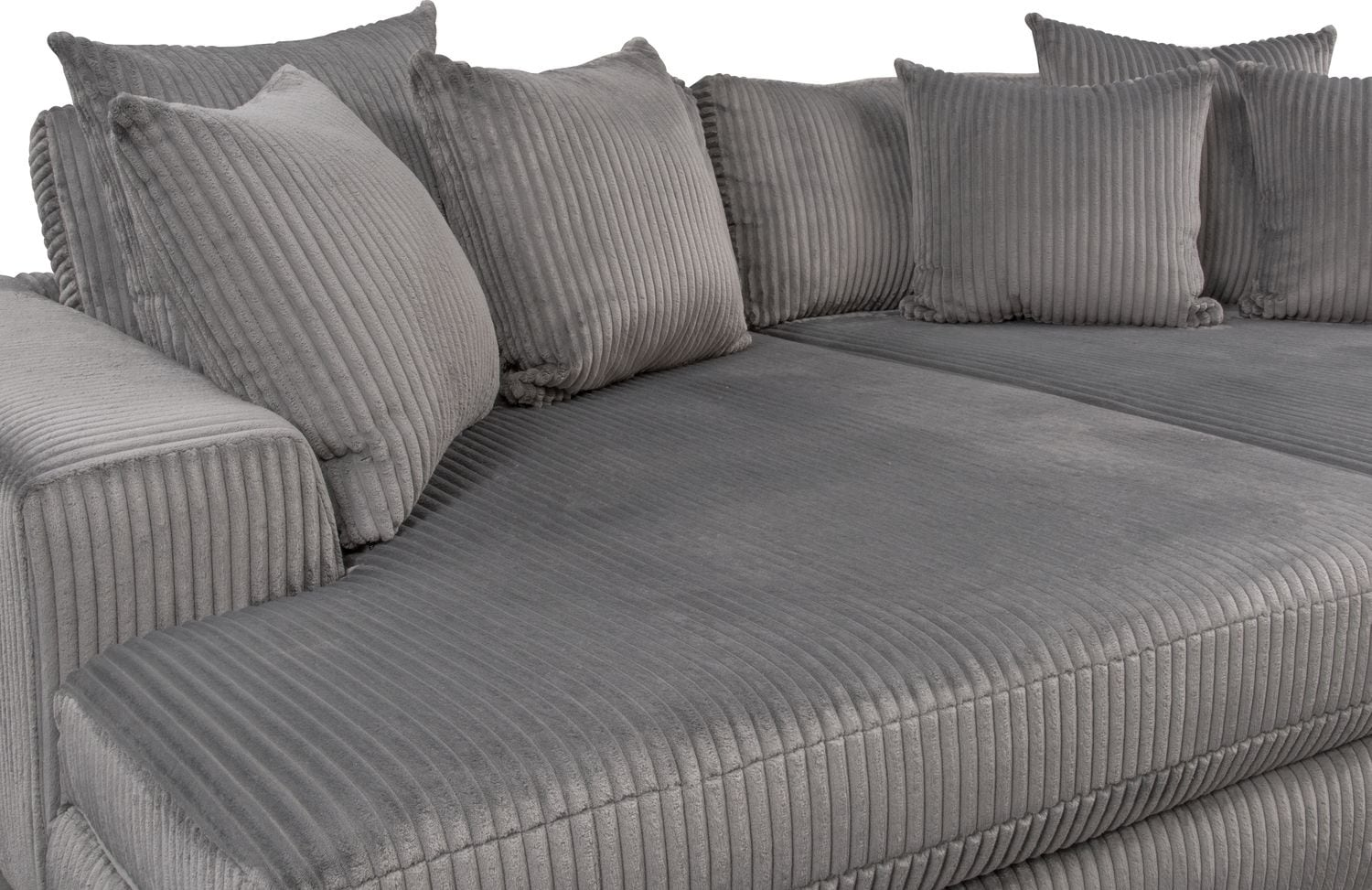 Double Chaise Lounge Sectional Sofa