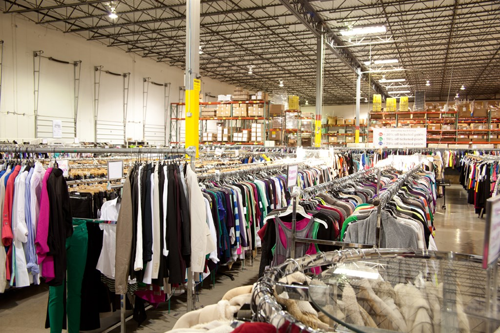 Rugged Wearhouse Clothing Store Furniture Shop