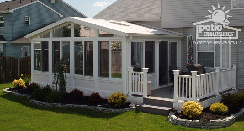 Patio Enclosures by Great Day Improvements   Taunton, MA ... on Cheap Patio Enclosure Ideas  id=45288