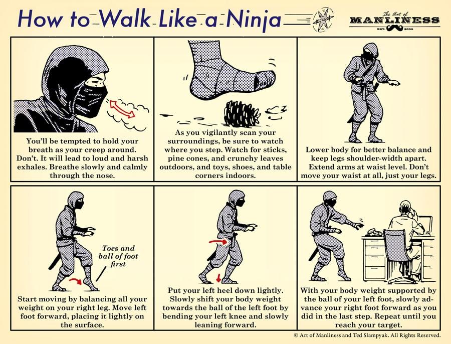 Walk Like a Ninja 3