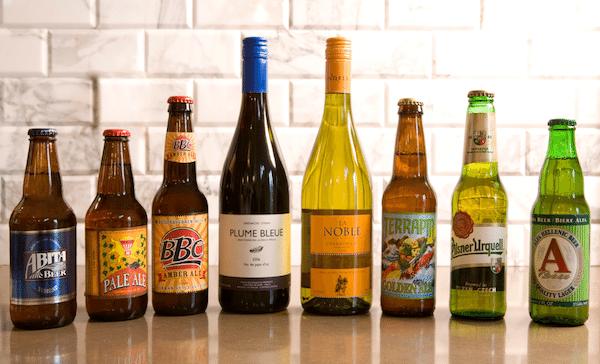 booze - Wine + Beer