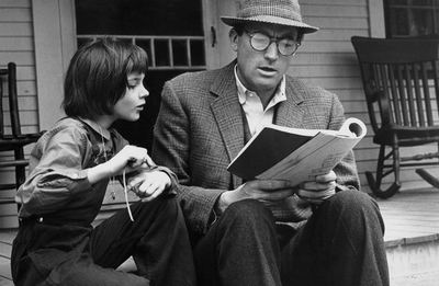 Image result for atticus finch reading