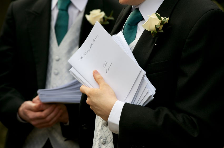 How To Be A Wedding Usher