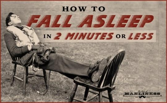 fall asleep fast