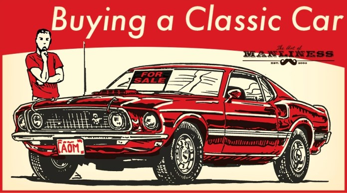 A Beginner S Guide To Buying A Classic Car The Art Of Manliness
