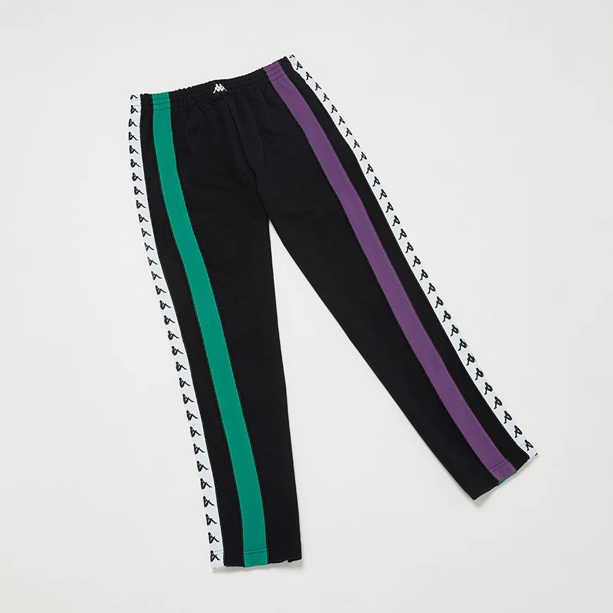 A picture of a pair of Kappa joggers, Available at ASOS.