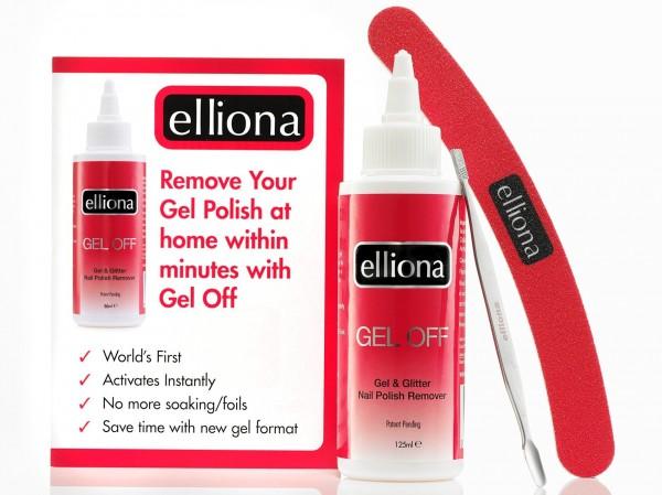 Elliona Gel Polish Remover Kit From Qvc