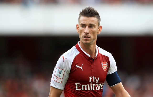 Laurent Koscielny is another who could be absent for the Gunners (John Walton/PA)