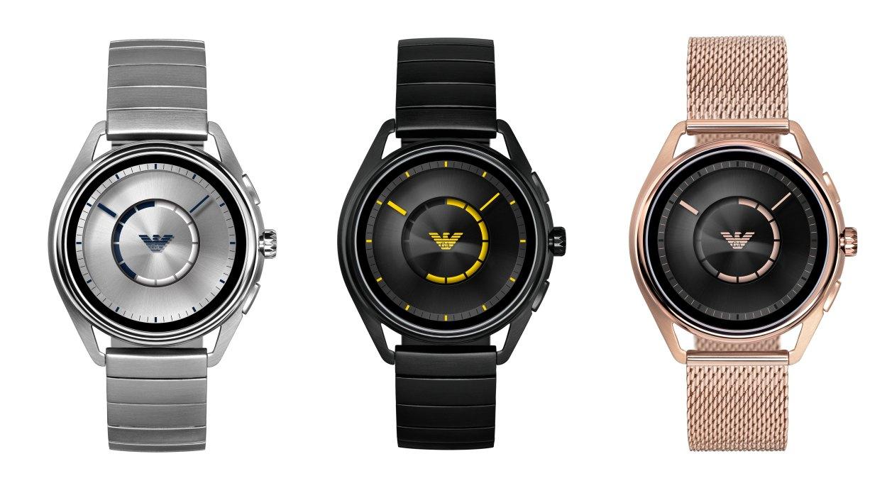 Emporio Armani Connected smartwatches (Emporio Armani)