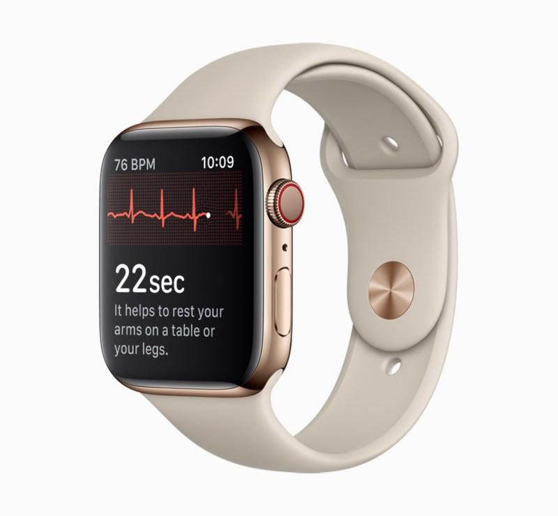 ECG app on the Apple Watch