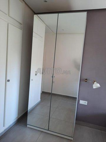 Armoire Ikea Tres Haute Avec Miroir Meubles Et Decoration A Marrakech Avito Ma 43640894