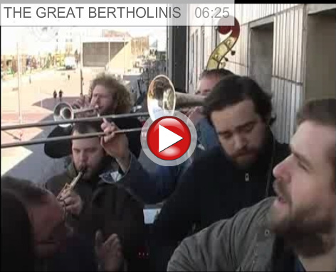 THE GREAT BERTHOLINIS @ Balcony.TV