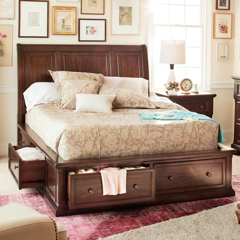 Hanover Queen Storage Bed