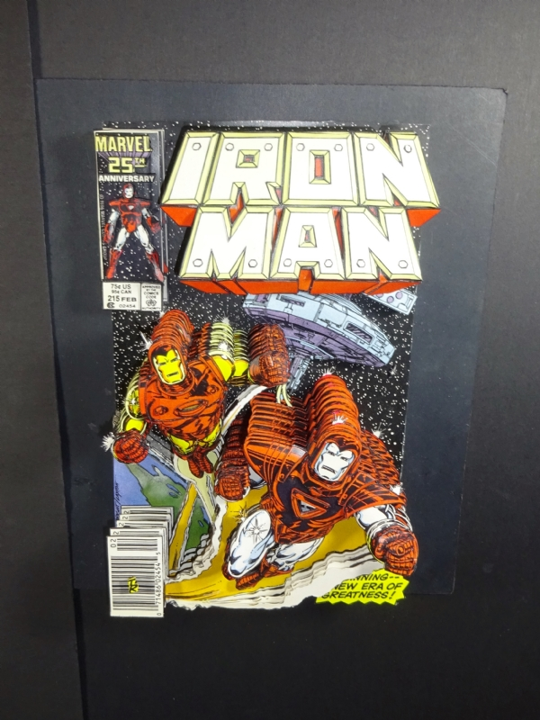 IRON MAN #215 3D 2017 (orig art by Mark Bright & Bob ...