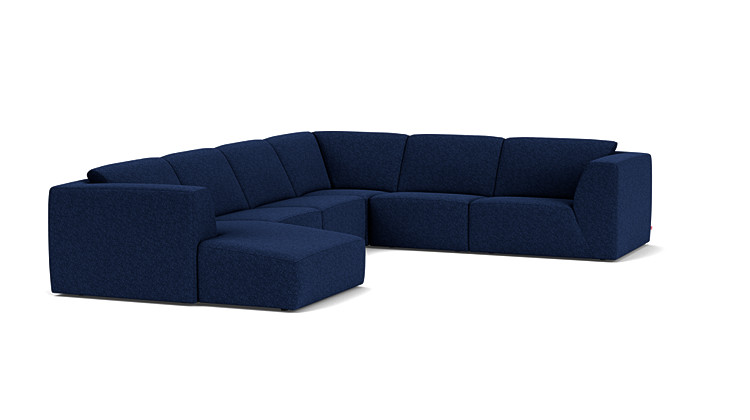 morten 6 piece sectional sofa with chaise