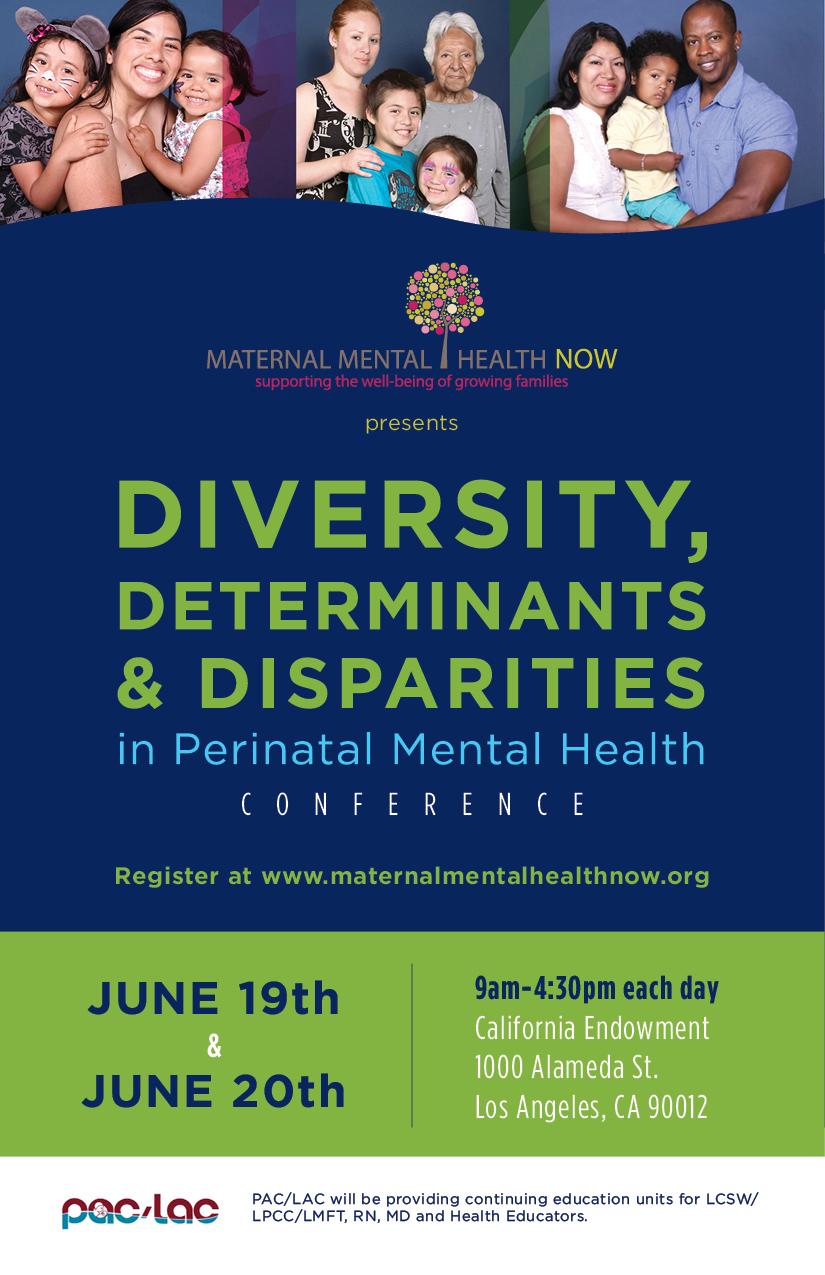 Determinants & Disparities in Perinatal Mental Health
