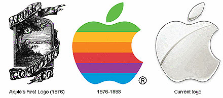 apple's logo evolution