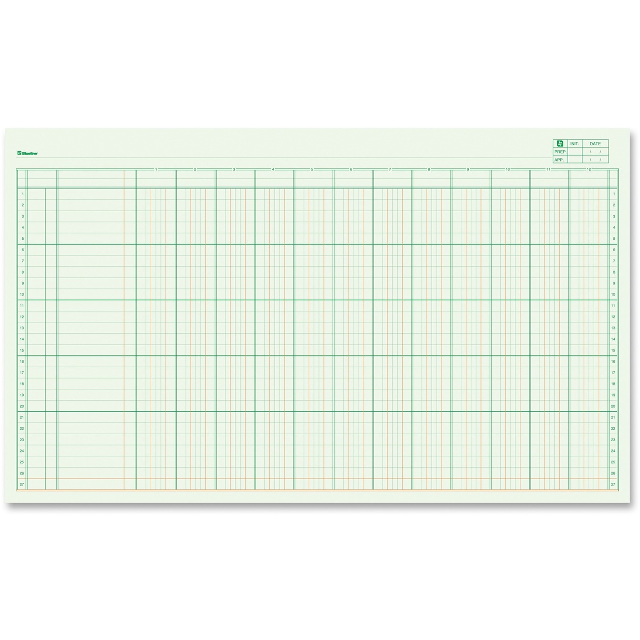 Accounting Columnar Pads Office Eofficeproducts Images