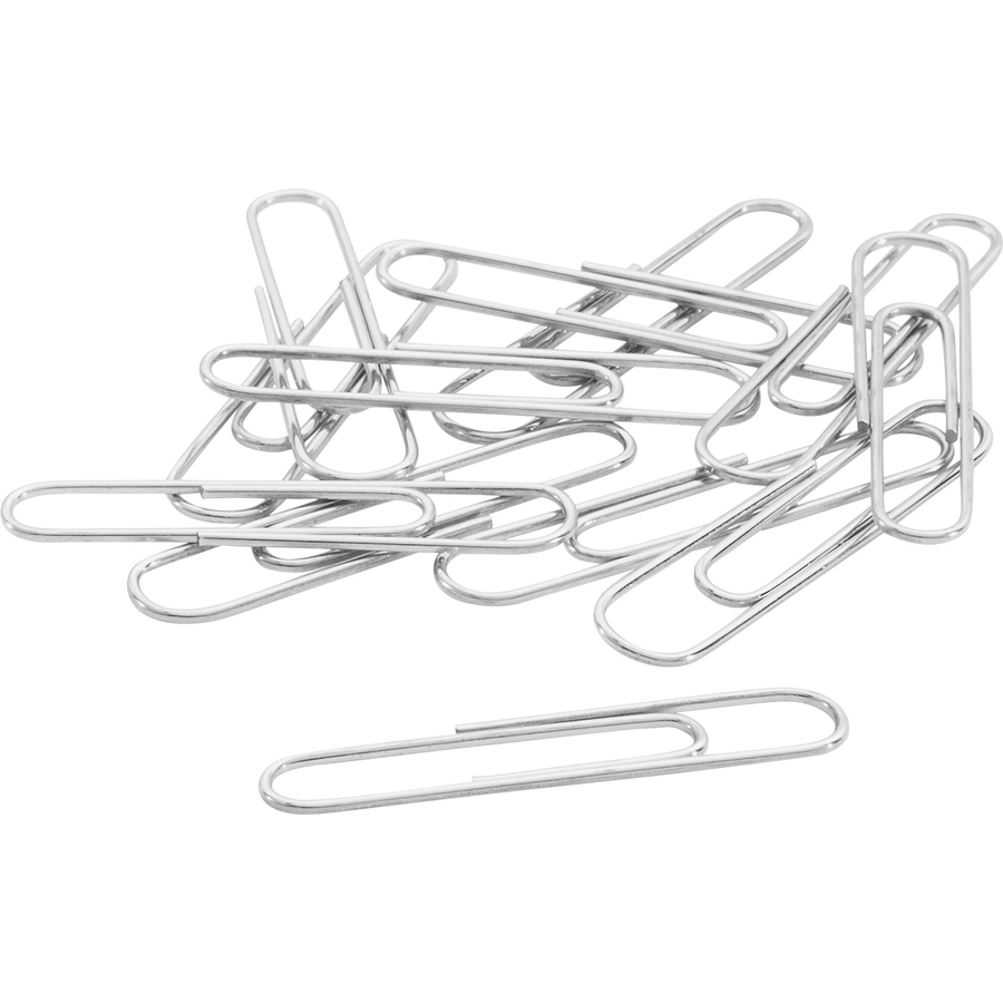 Acco Recycled Paper Clips Smooth Finish Jumbo Size 100 Box Acc