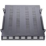 Startech Com 1u Adjustable Depth Vented Rack Mount Shelf Heavy Duty Fixed Server Rack Cabinet Shelf