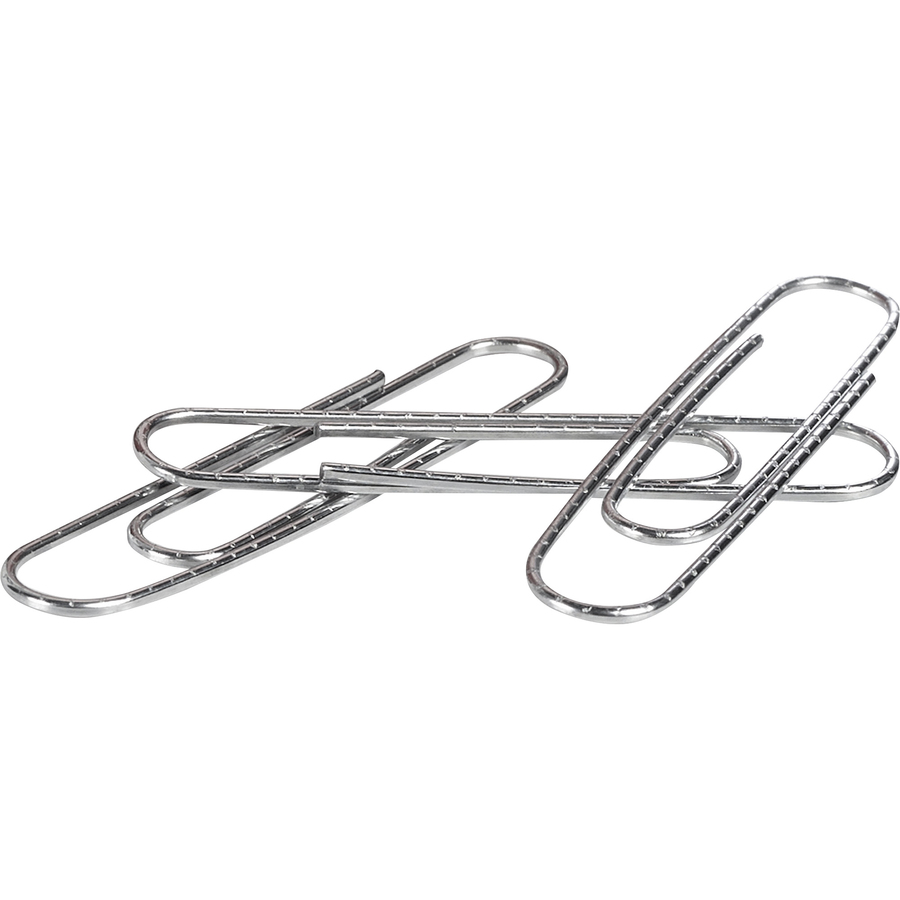Acco Premium Jumbo Paper Clips Non Skid Finish Jumbo