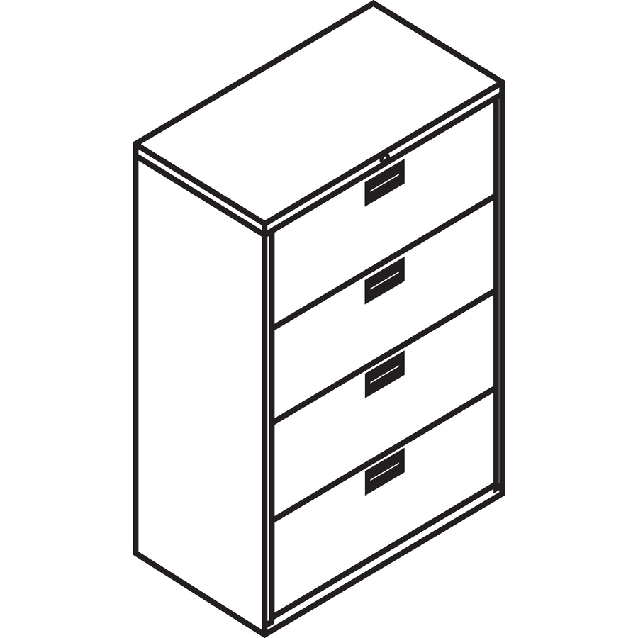 Hon 684lq Hon 600 Series Standard Lateral File With Lock