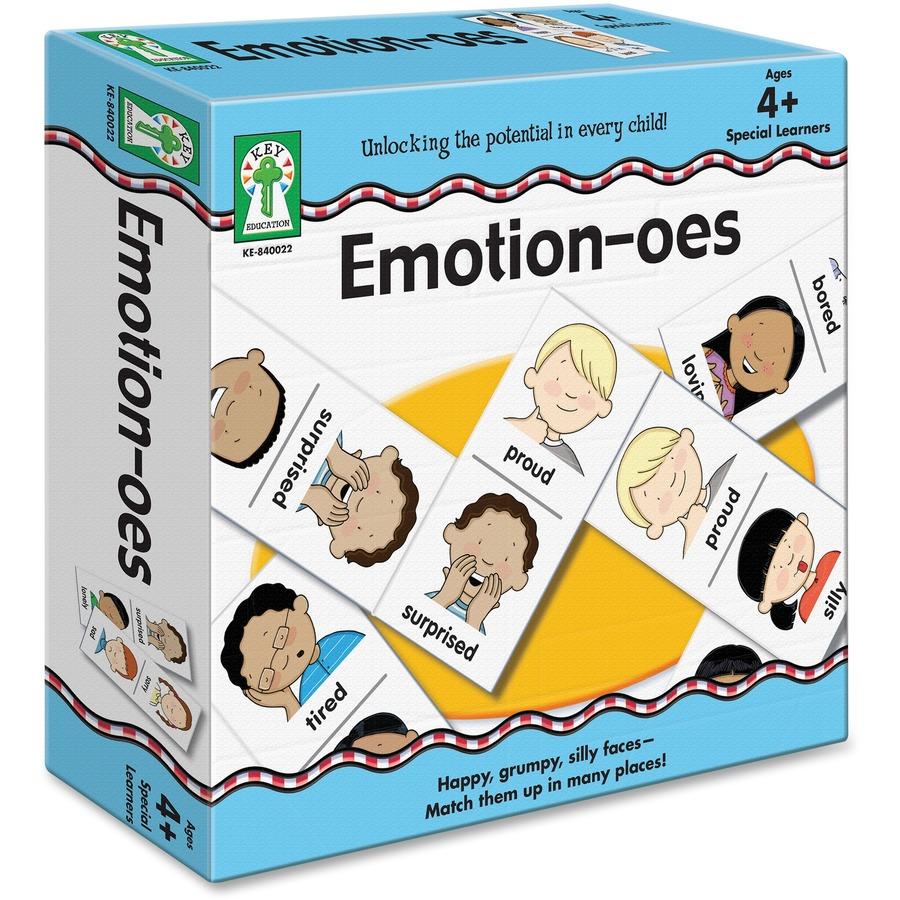 Carson Dellosa Education Emotion Oes Board Game