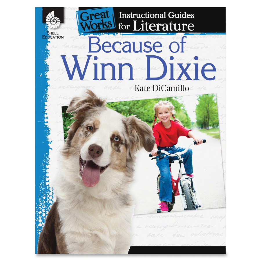 Shell Because Of Winn Dixie Guide Book Education Printed