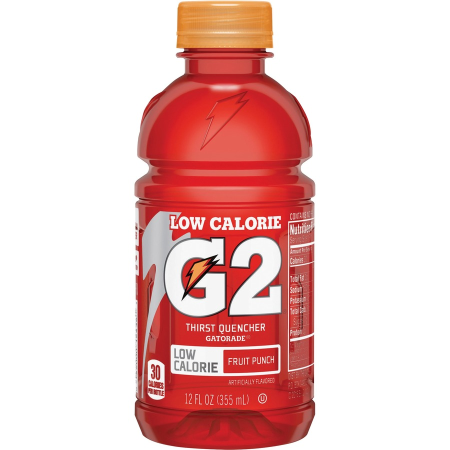 QKR12202 Gatorade Quaker Foods G2 Fruit Punch Sports